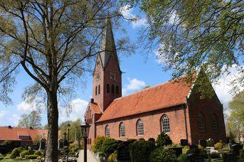 Ev.-luth. Liudgeri-Kirche in Hesel