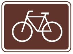 Fehnroute Hinweisschild Rad